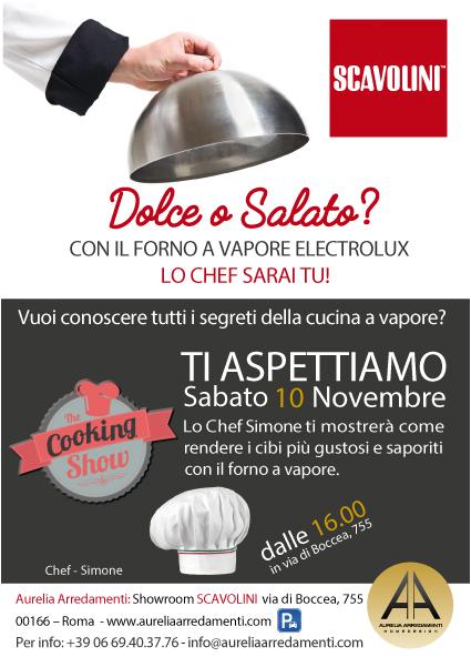 Rivenditore ufficiale scavolini roma - Show cooking