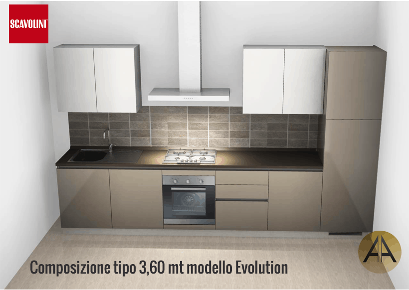cucina scavolini evolution
