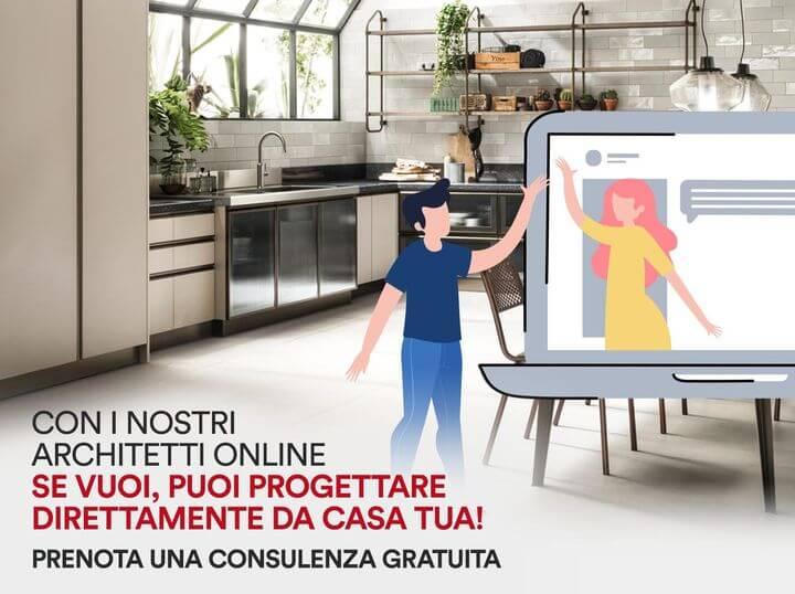 Progettazione cucine scavolini online